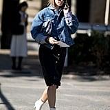 Pernille Teisbaek at Paris Fashion Week