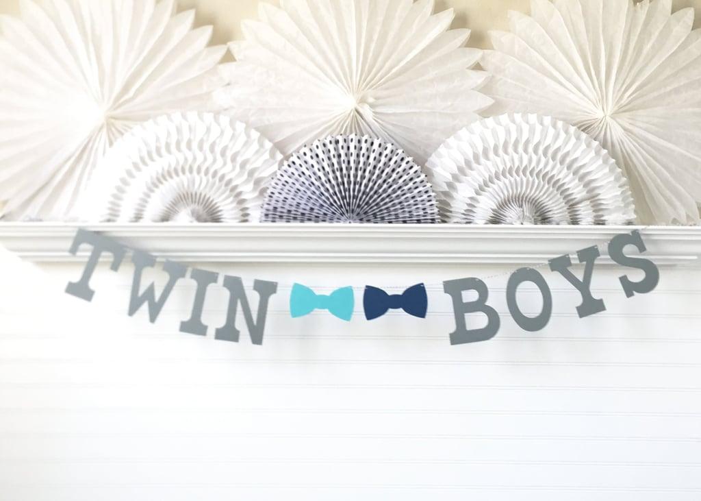 Twin Baby Shower Ideas Popsugar Family