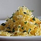 Making Spaghetti Squash Spaghetti
