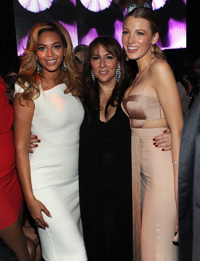 Beyonce and Blake Lively at Lorraine Schwartz Event