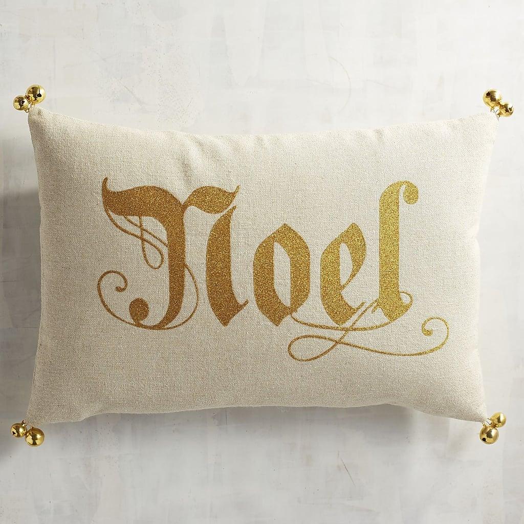 Noel Bells Lumbar Pillow ($13, originally $20)