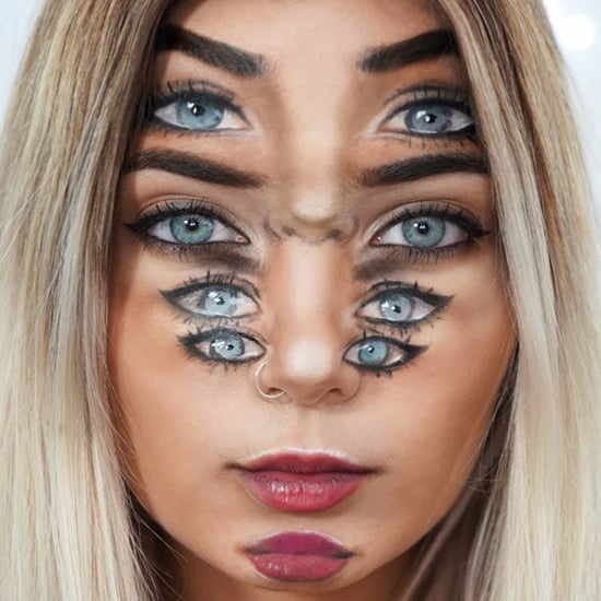 Eyeball Optical Illusion Makeup Tutorial