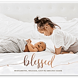 Brilliantly Blessed Holiday Card from tinyprints ($2-$3 per card)