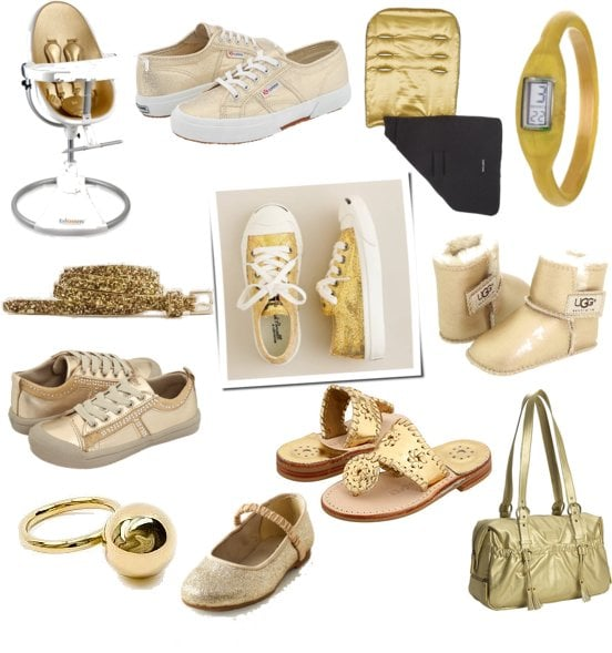 Gold Accessories For Babies and Kids