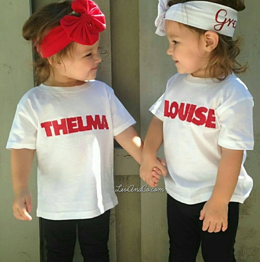 Thelma And Louise Outfits 57 Perfect Kids Halloween Costume Ideas For Bffs Popsugar Family Photo 32