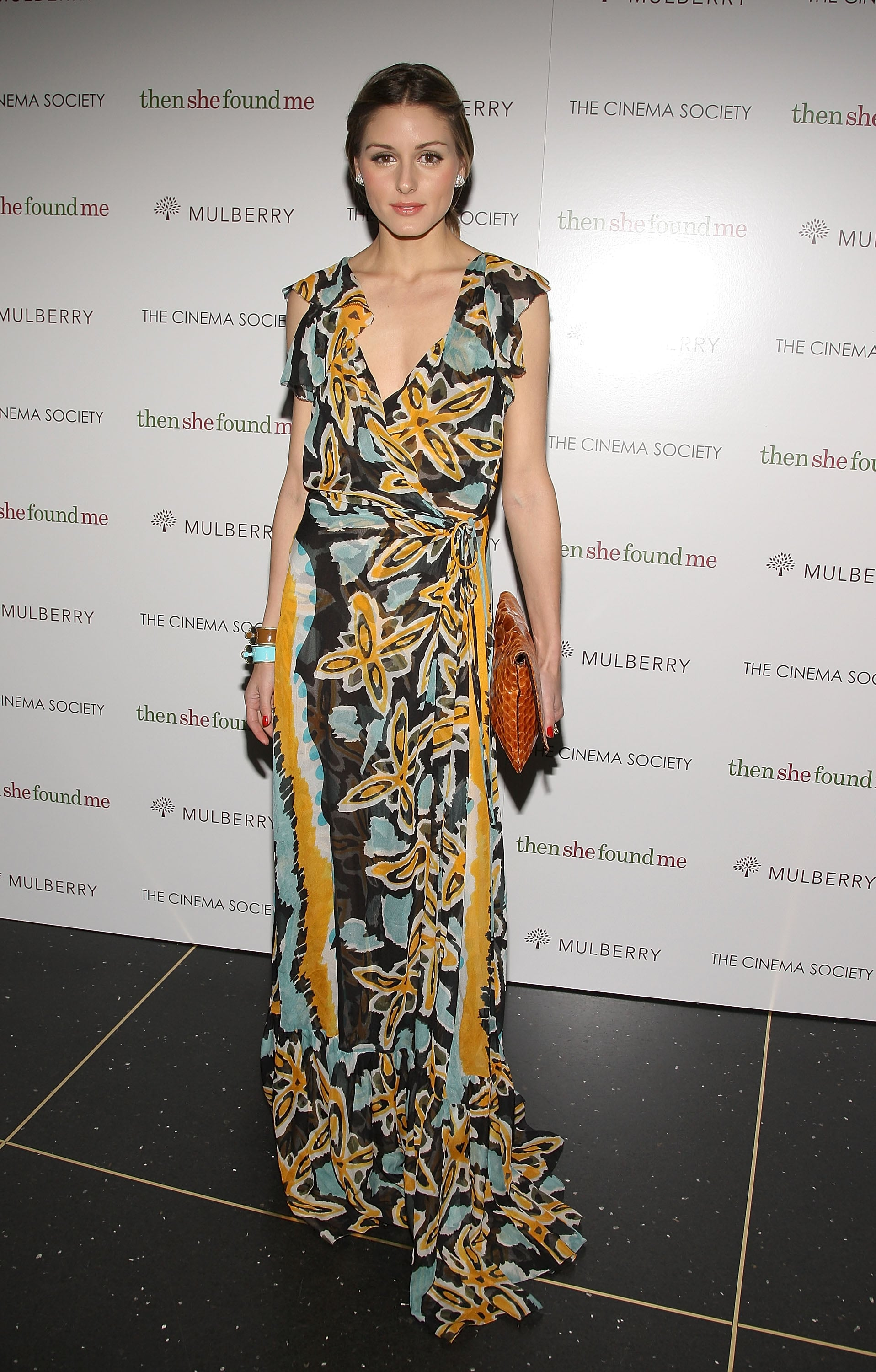 A gorgeous printed DVF for a New York film premiere in 2008.