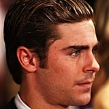 Zac Efron attended The Lucky One premiere in Melbourne.