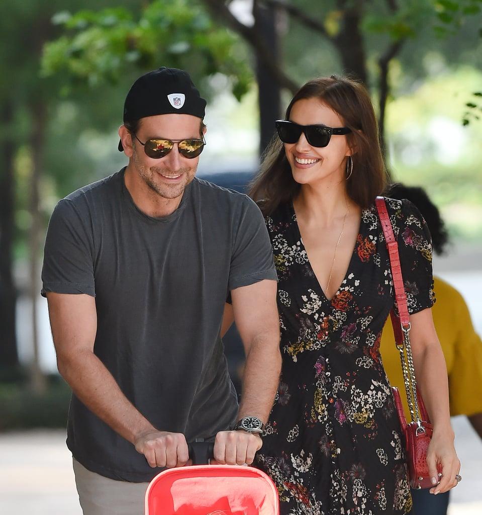 Bradley Cooper and Irina Shayk Walking in NYC Oct. 2018