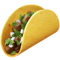 We think: An incredibly delicious taco. What it actually is: An incredibly delicious taco.