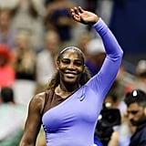 Serena Williams's Purple Tutu at the 2018 US Open