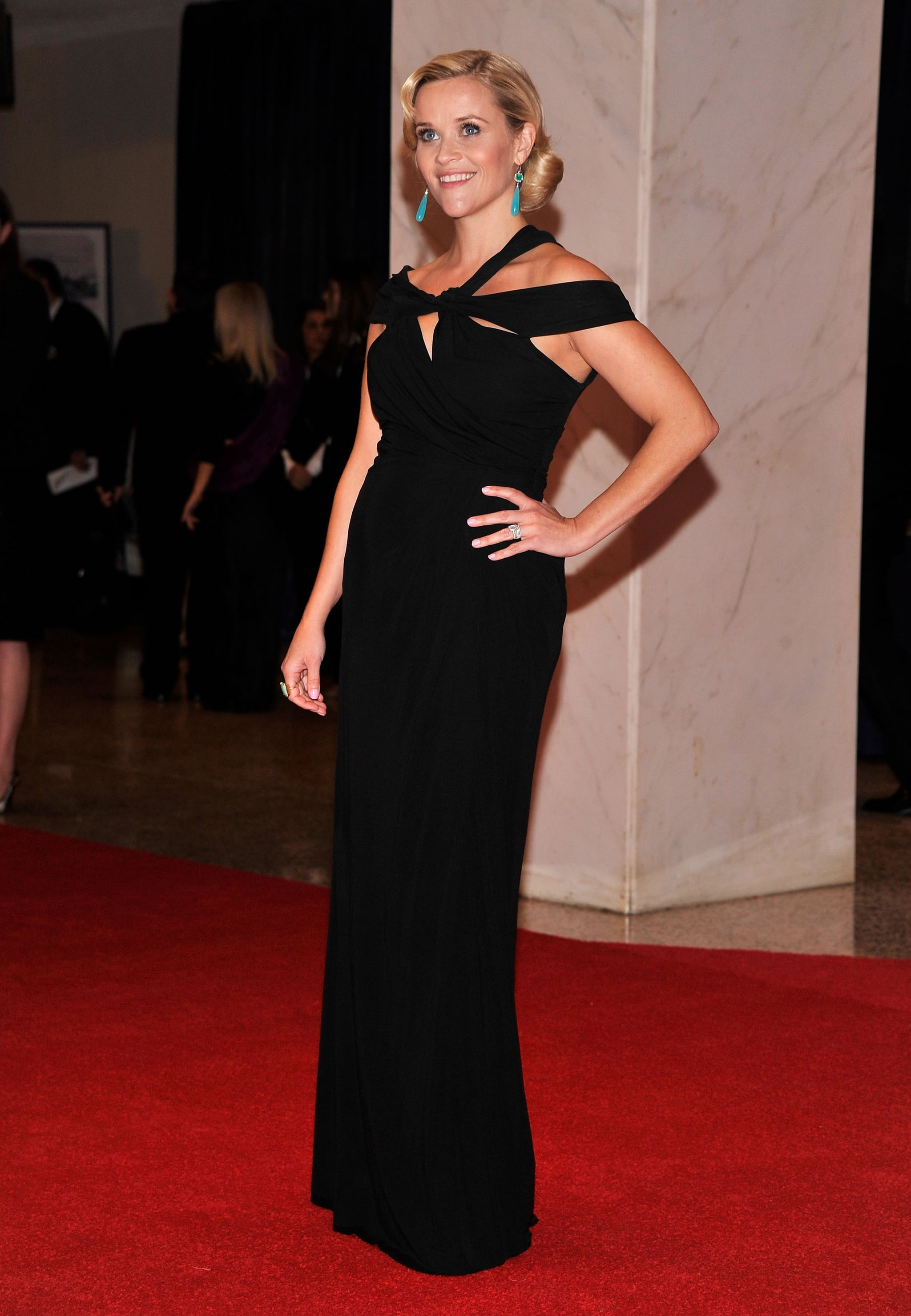 Reese Witherspoon in Monique Lhuillier at 2012 White House Correspondents' Dinner