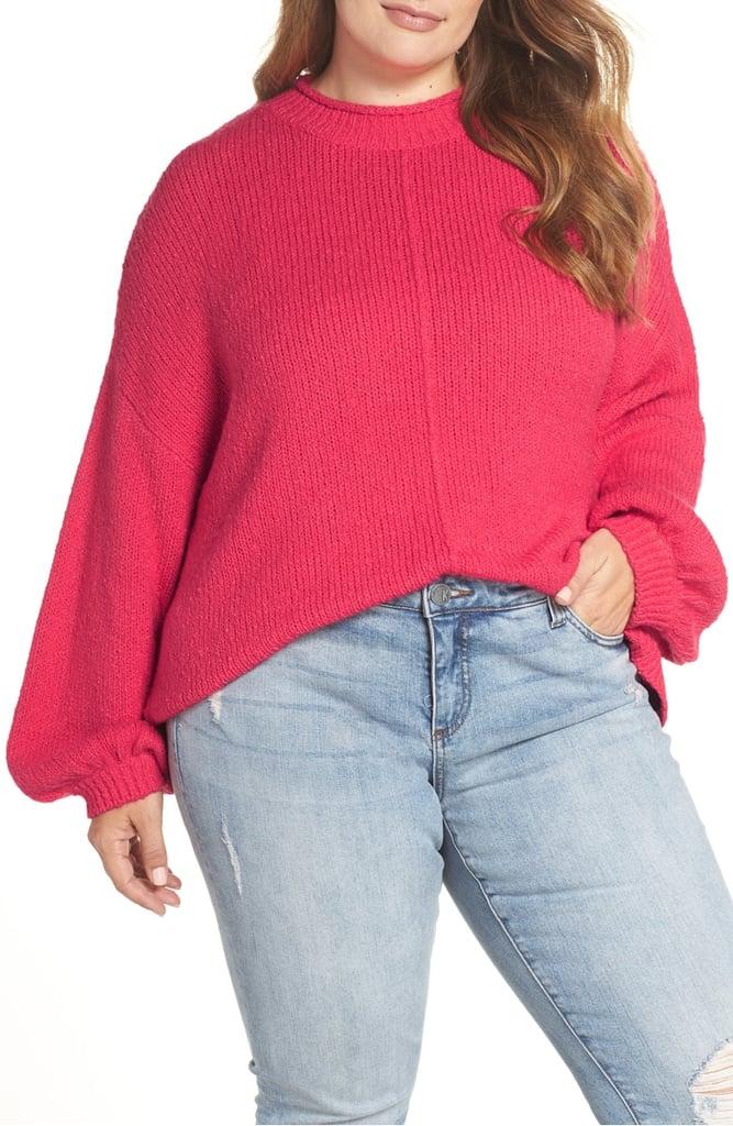 BP. Balloon Sleeve Sweater