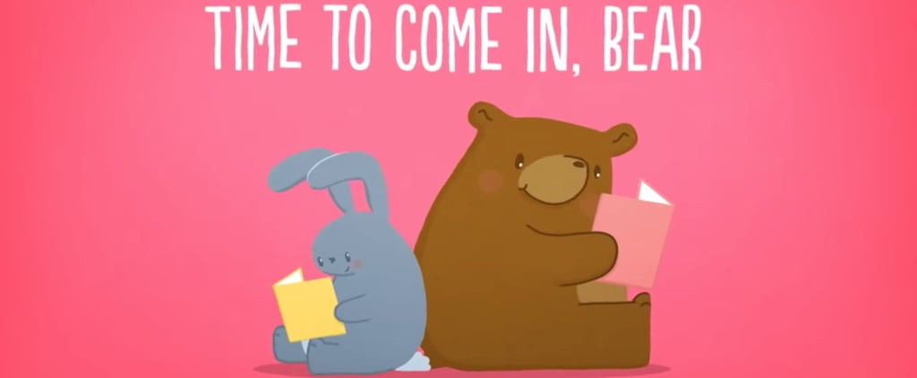 Time to Come In Bear Children's Story on Social Distancing