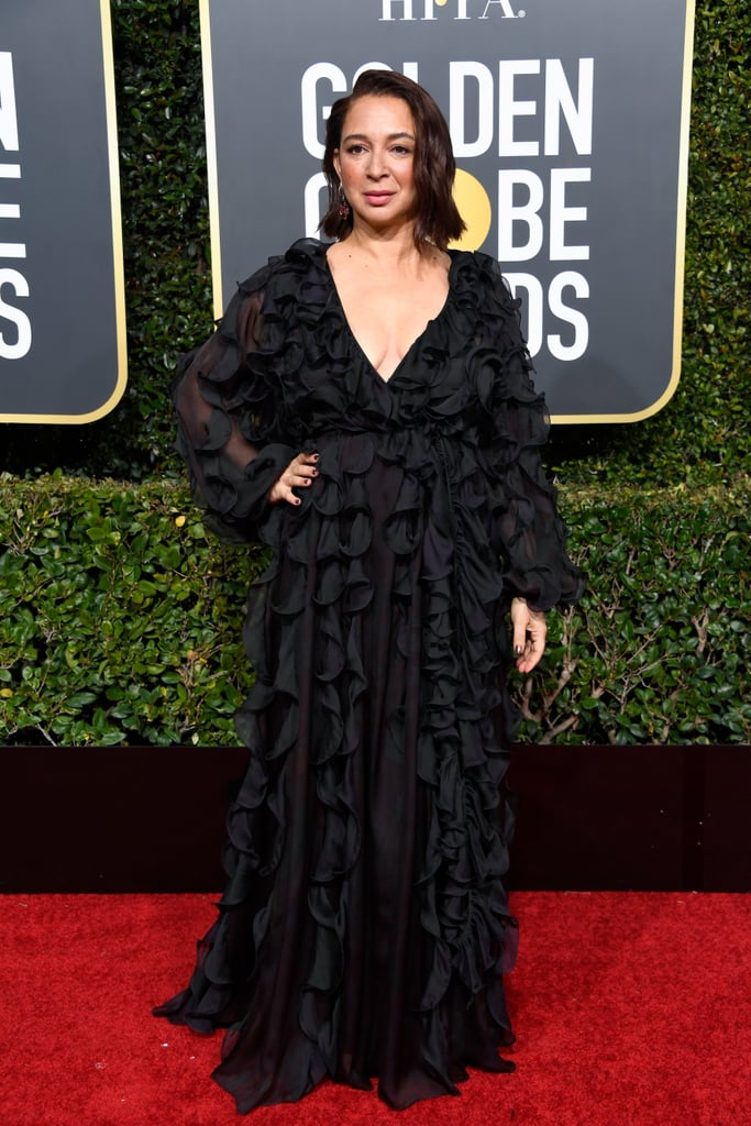 Maya Rudolph at the 2019 Golden Globes