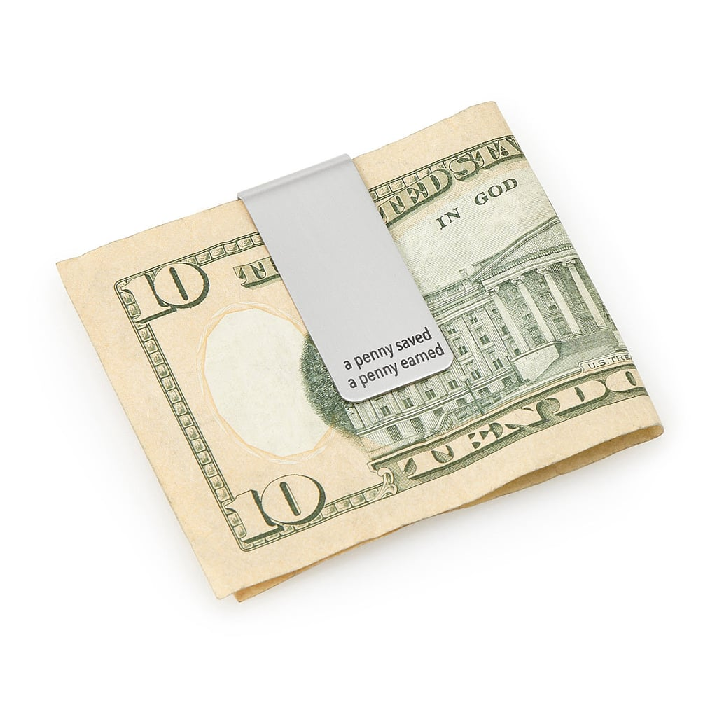 """""""Penny Saved, Penny Earned"""" Money Clip ($18)"""