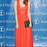 Emma Stone laughed at the Museum of Natural History Gala.
