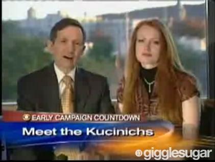 Hannah Storm Interviews Rep. Dennis Kucinich and Elizabeth Kucinich