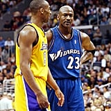 Photos of Michael Jordan and Kobe Bryant