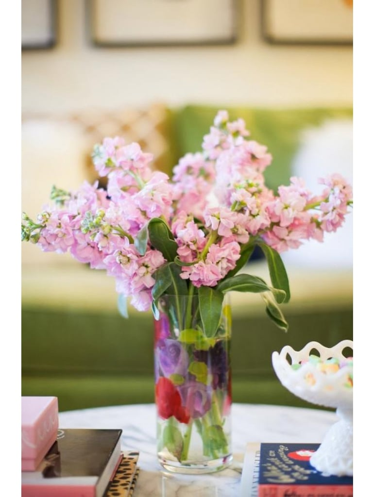 Paired with fresh stems, you can't go wrong giving this Sweet Pea Glass Vase ($29).