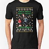 """Who's There? Christmas!"" T-Shirt"