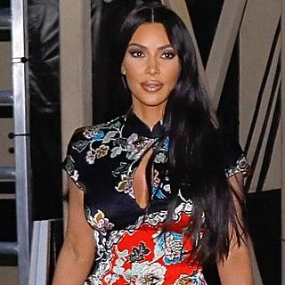Kim Kardashian Floral Minidress at Jimmy Kimmel Live 2019