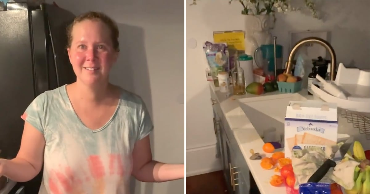 Tag Yourself in Amy Schumer's Cluttered, Post-Childcare Kitchen — I'm the Orange Peels.jpg