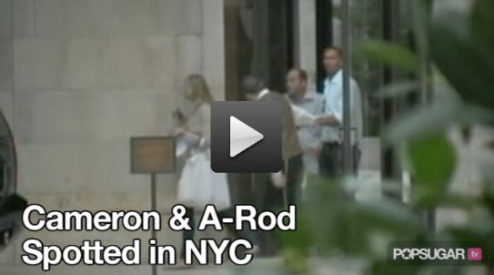 Video of Cameron Diaz and Alex Rodriguez Together On His 600th Home Run Day