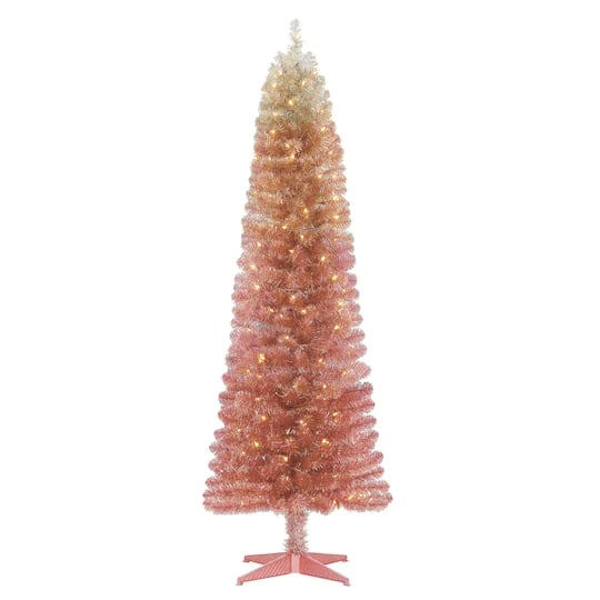 6Ft. Pre-Lit Alexa Artificial Christmas Tree With Clear Lights by Ashland