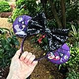 Nightmare Before Christmas Purple Disney Mouse Ears ($25)