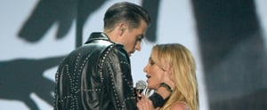 Britney Spears Blatantly Refuses to Kiss G-Eazy During Their Steamy VMAs Performance