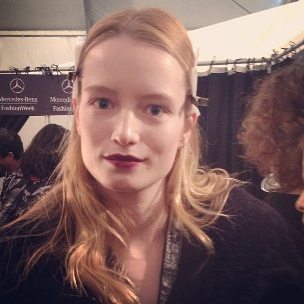 It's official, bold, matte lips are huge for Fall 2013.