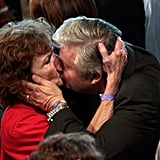 Before his wife, Michele Bachmann dropped out of the race, Marcus Bachmann got hot and heavy with a supporter in Iowa.