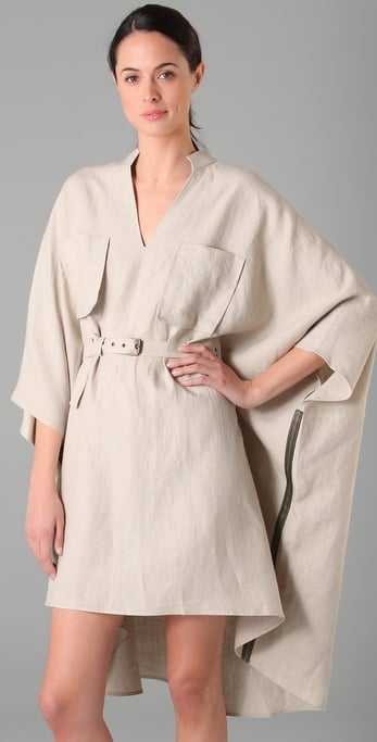 Derek Lam Embroidered Poncho with Self Belt ($1,690)