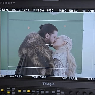 Kit Harington Kissing Emilia Clarke Game of Thrones Video