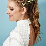 The Hairstyle: Textured Ponytail With Accent Braid
