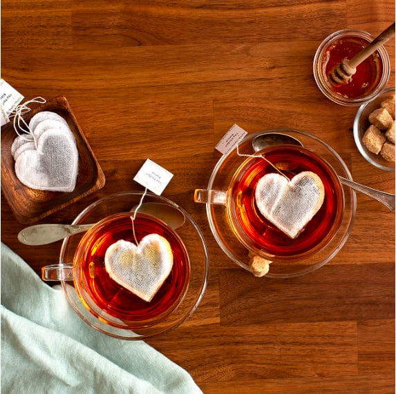 These Heart-Shaped Tea Bags Are the Cutest