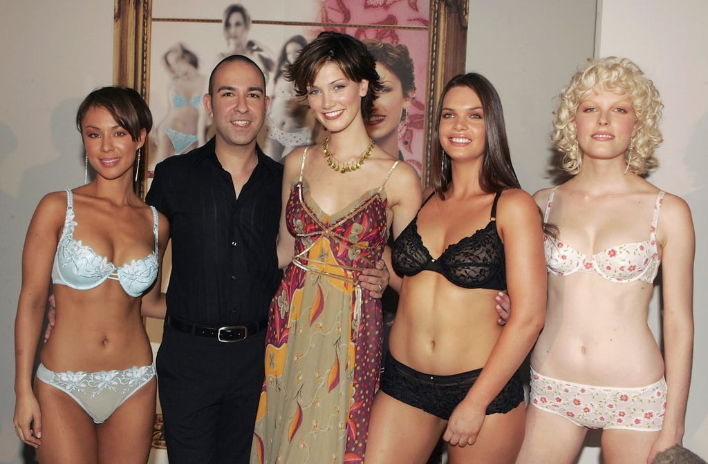 Delta teamed up with Bruno Schiavi to design a lingerie line in Oct. 2004.