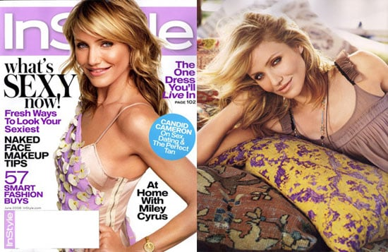 Cameron Diaz In the June Issue of InSyle