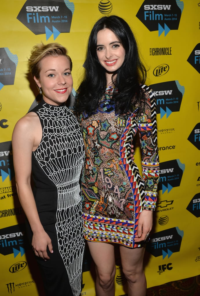 Tina Majorino and Krysten Ritter attended the Veronica Mars movie premiere on Saturday.