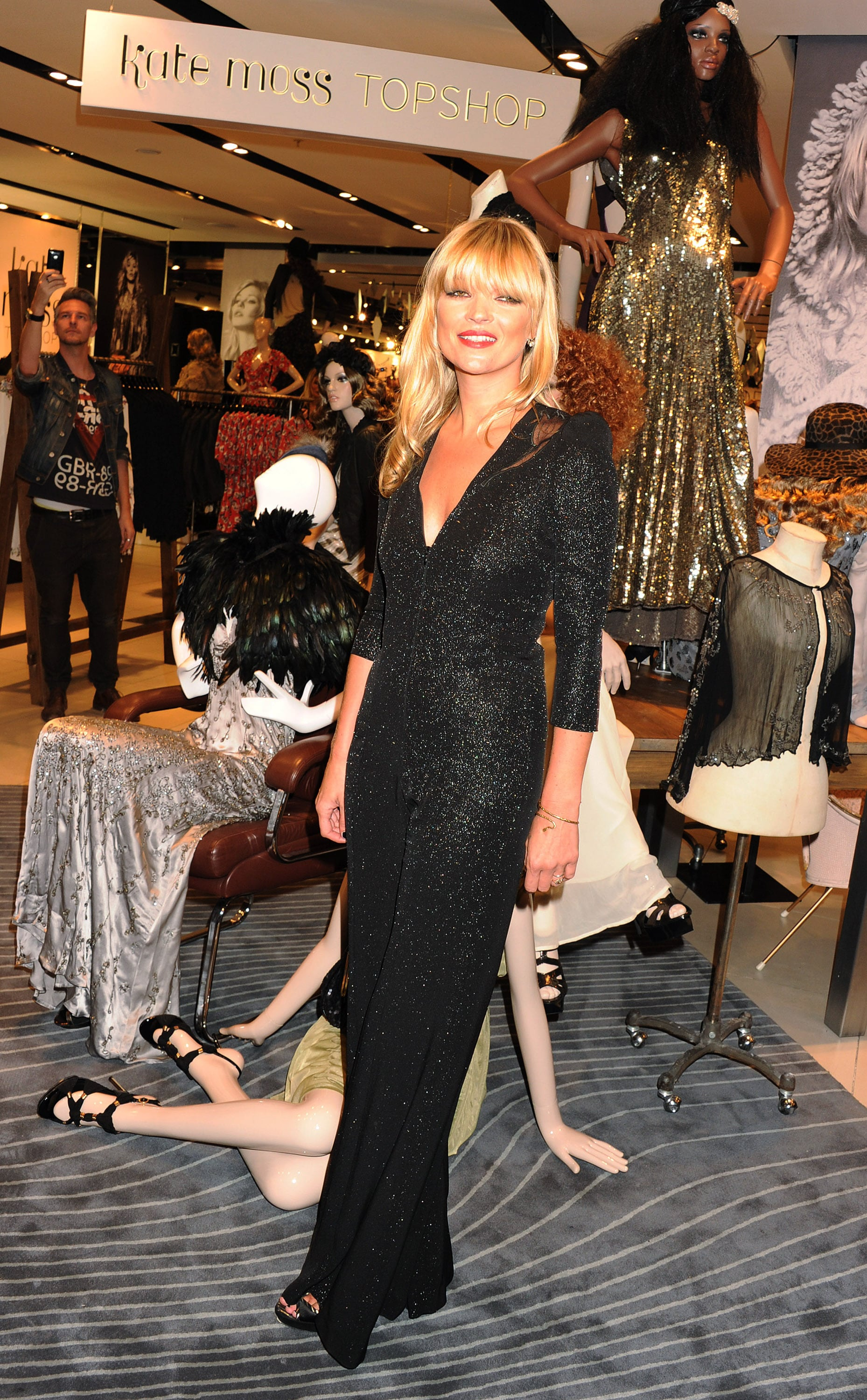 Kate Moss at the London Launch of Her Latest and Last ...