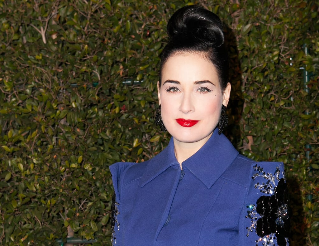 11ac985886e It s rare you see Dita Von Teese in anything other than vintage waves