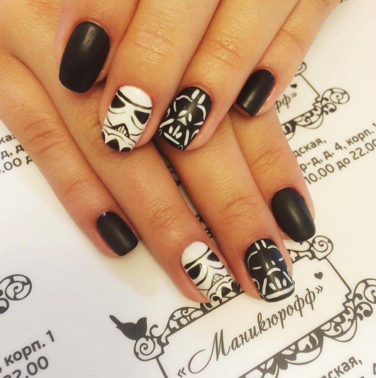 Star Wars Nail Art Ideas - Star Wars Nail Art Ideas POPSUGAR Beauty Photo 24