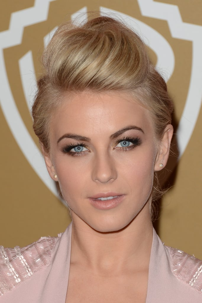 Julianne Hough embraced the nude lip.