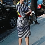 Diane Kruger Mixes Prints For a Morning-Show Stop