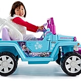 For 6-Year-Olds: Power Wheels Disney Frozen Jeep Wrangler
