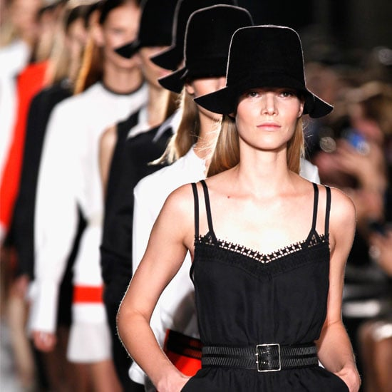 Pictures and Review of Victoria Beckham Spring Summer New York Fashion Week Runway Show
