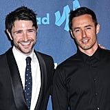 Matt Dallas and Blue Hamilton