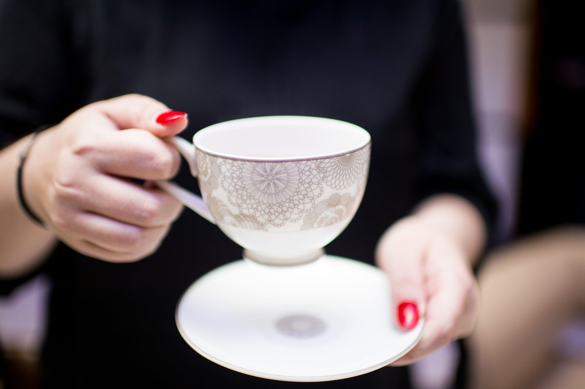 Take a sip of tea to boost your positivity