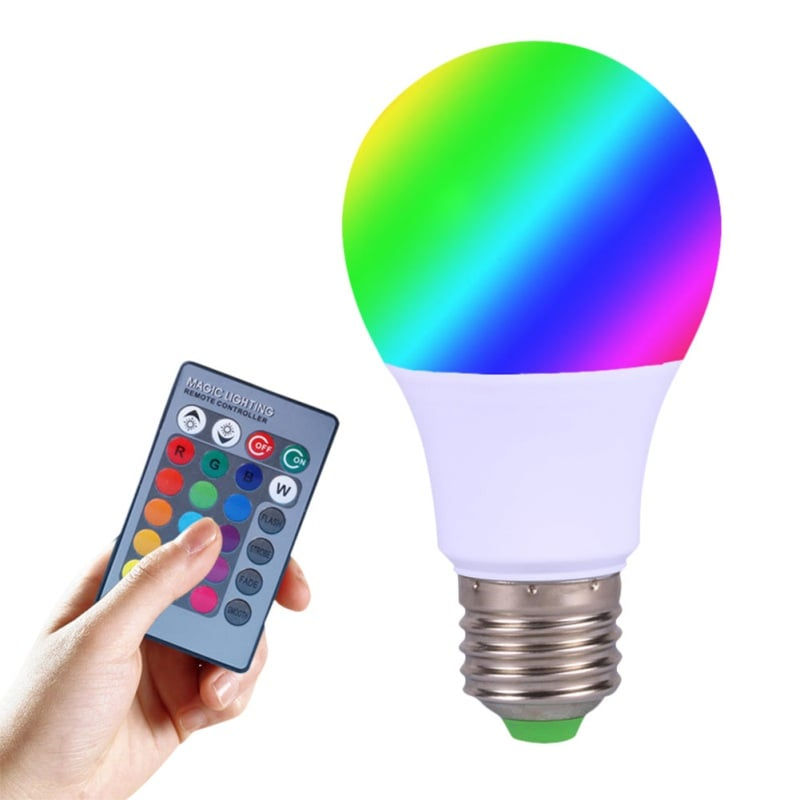 Supersellers 16 Colors Change Magic LED Light Bulb