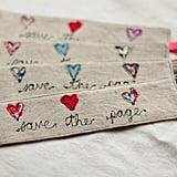 Linen Bookmarks